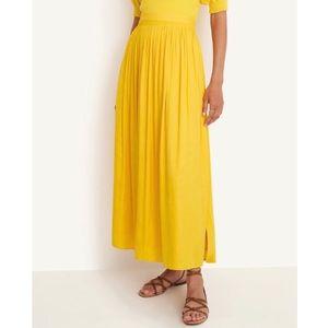 Ann Taylor | shirred maxi skirt